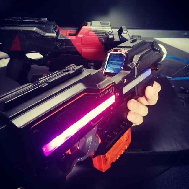 prototyp lasertag gewehr