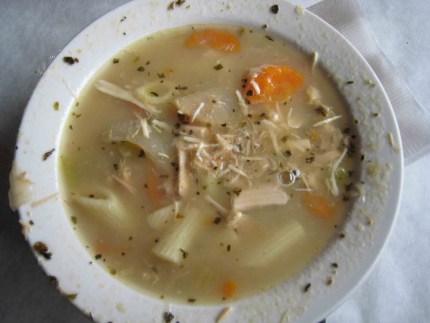 Chicken Noodle Soup at Nana's