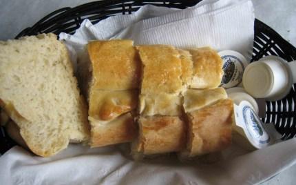 Fresh bread is a hallmark at Nana's
