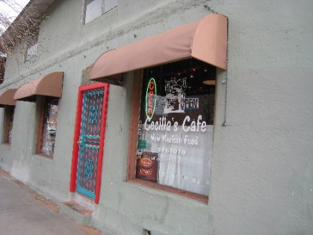 Cecilia's Cafe in Downtown Albuquerque