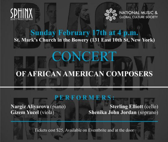 Concert of African-American Composers