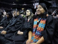 Native American Beaded Graduation Caps