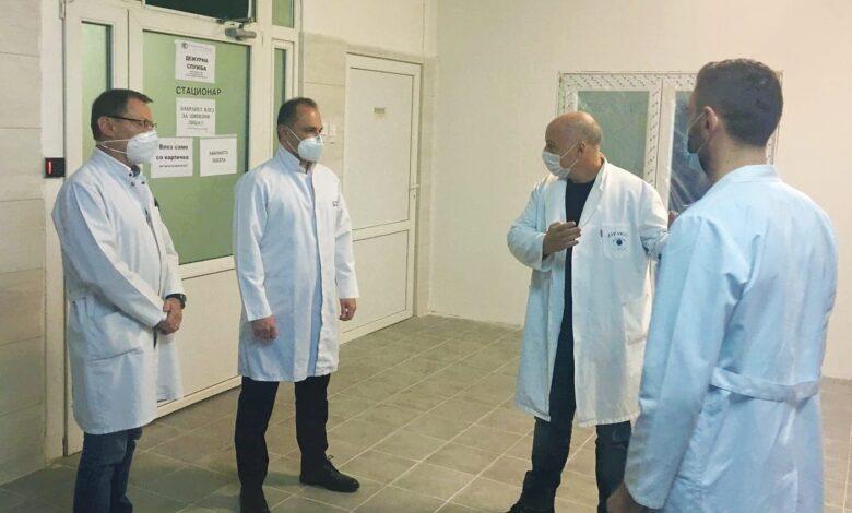 Filipçe: 50 krvatë në Klinikën ORL-së do të përdoren për pacientë me Covid-19