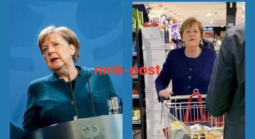Jeton me qira, s'ka shërbëtorë, bën vetë pazarin – Kjo është Angela Merkel