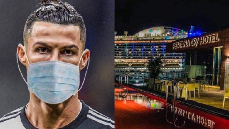 Hotelet që ka në pronësi Ronaldo i shndërron në spitale për të prekurit nga coronavirus