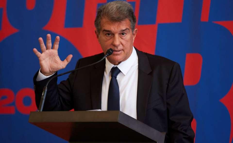 Laporta zgjidhet Presidenti i ri i Barcelonës