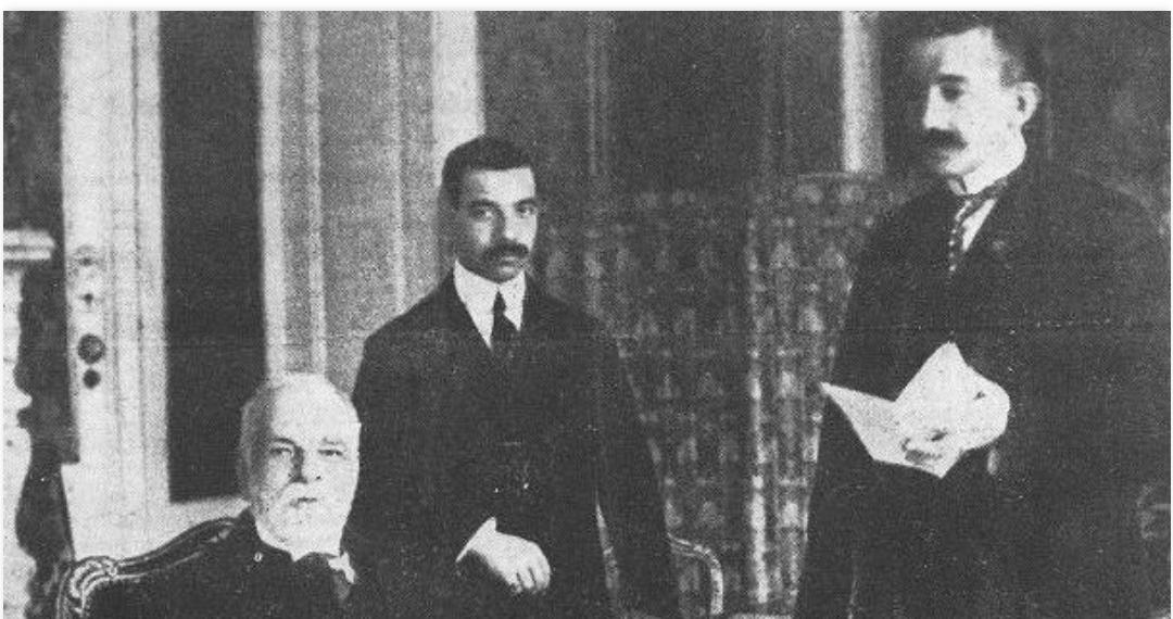 Hasan Prishtina (1873-1933), ideolog i çlirimit dhe i bashkimit kombëtar të shqiptarëve, intelektual e atdhetar…