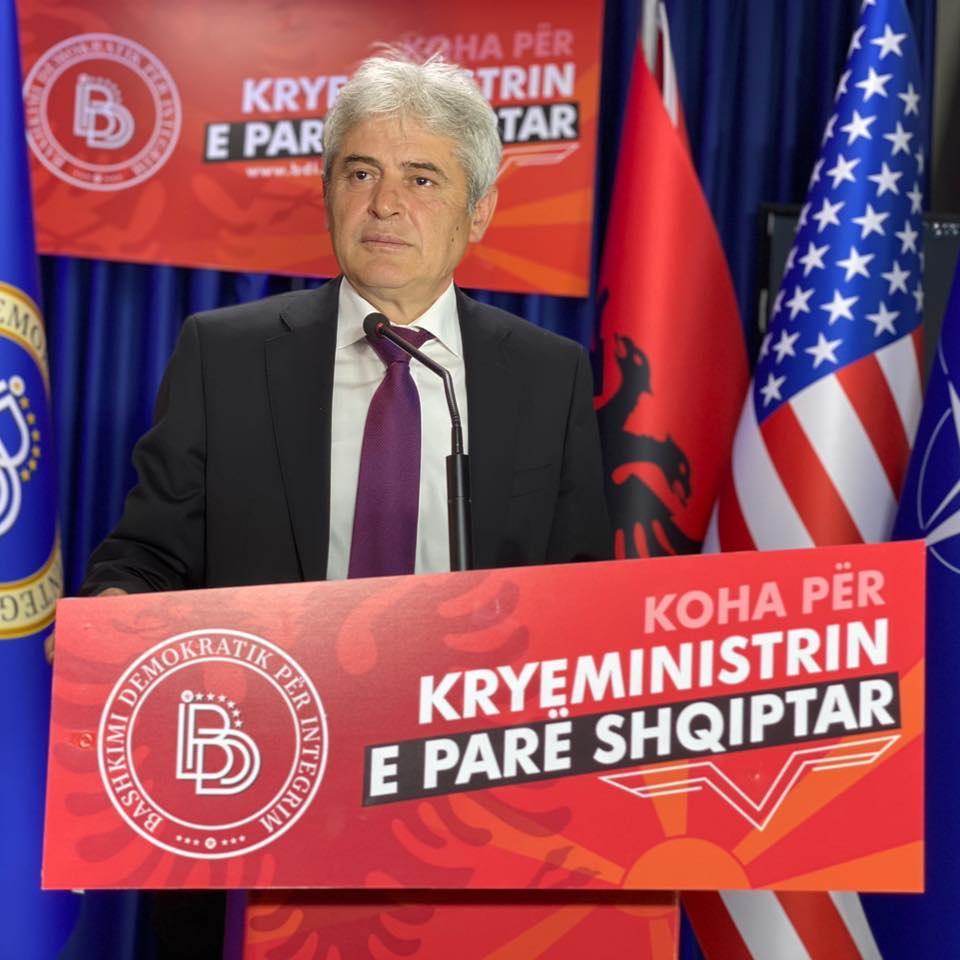 Ali Ahmeti: Është koha për Presidenti shqiptar