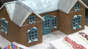 Raise the roof with your gingerbread house