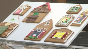 Adding windows and doors to your gingerbread house