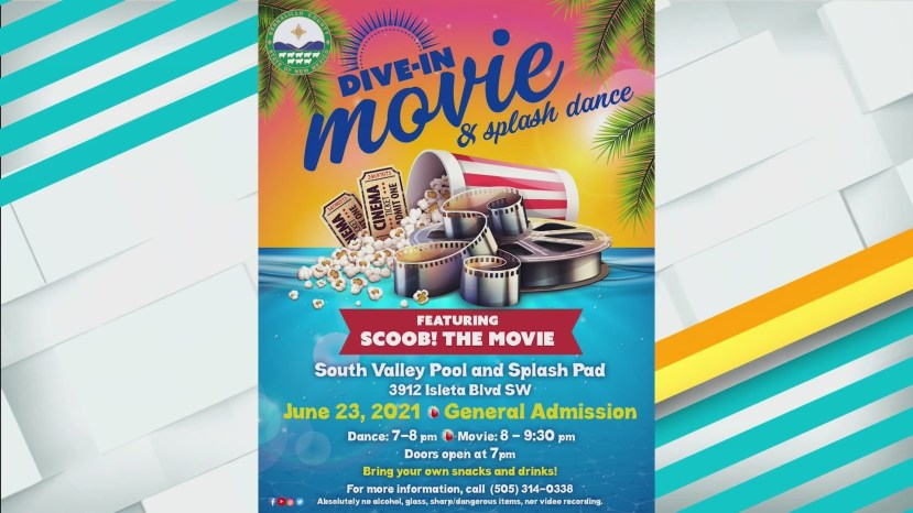 Cool off this summer with a 'dive-in' movie and splash dance