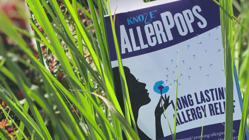 Allerpops is a product that helps allergy relief for months