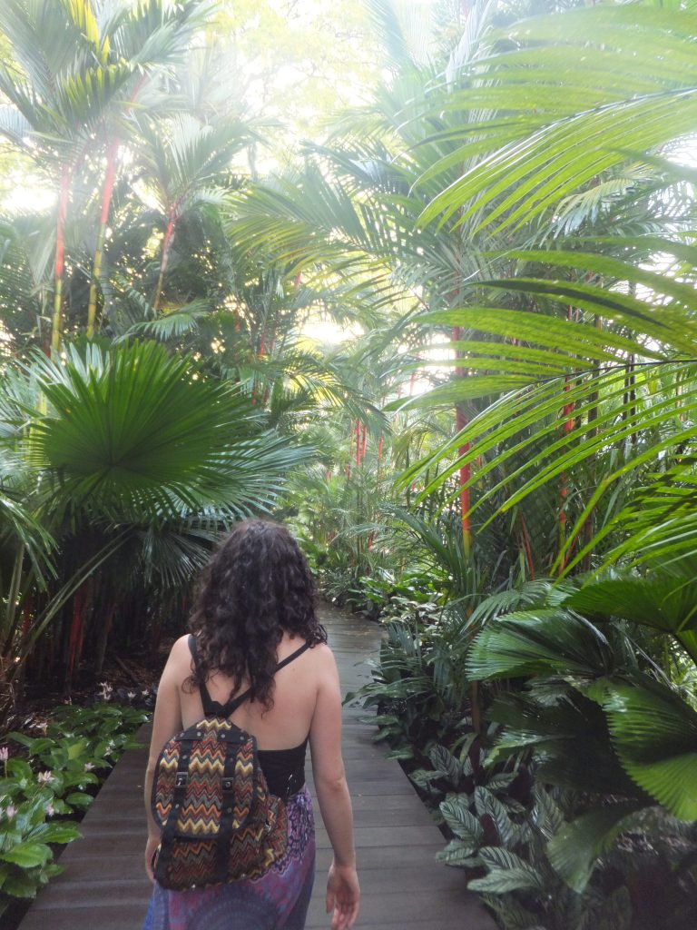 Girls trip to Singapore's gardens