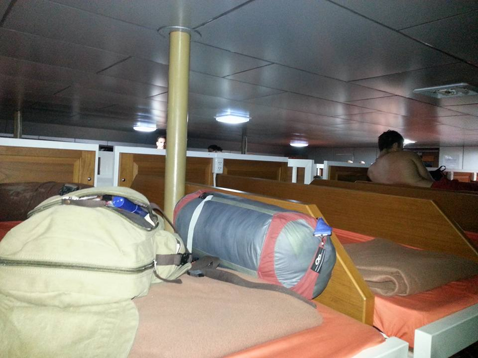 Leaving Koh Tao on an overnight bus