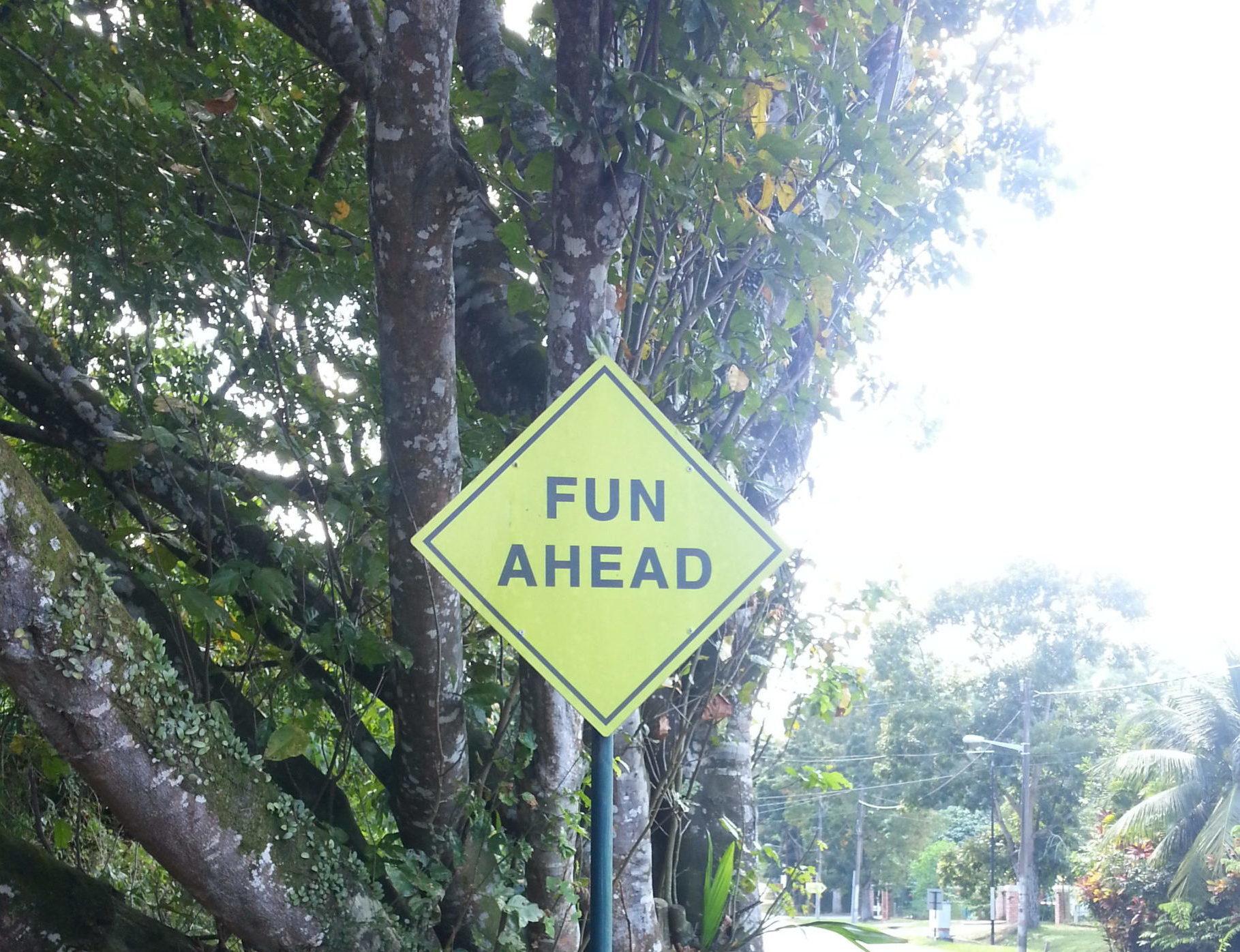 Street sign in Penang