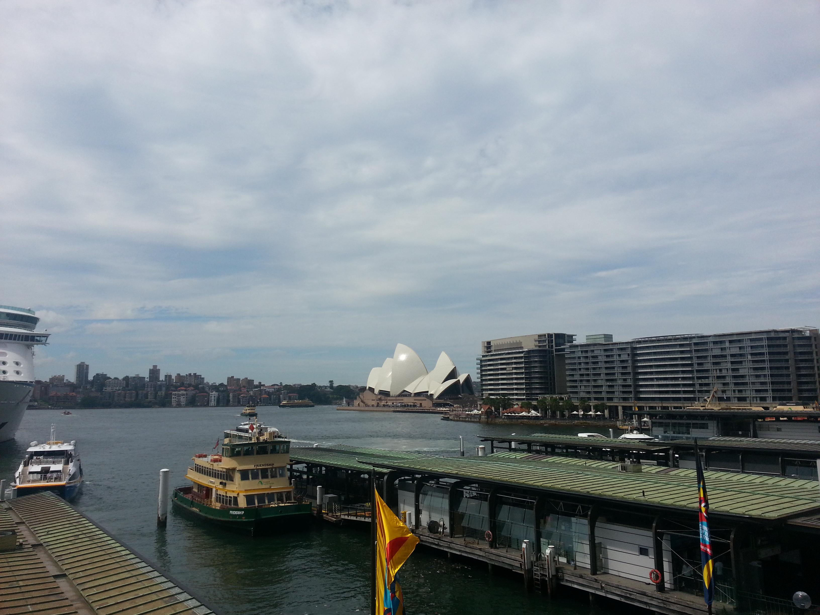 Sydney Opera House when backpacking australia
