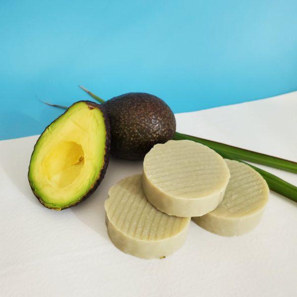 Homemade avocado soap