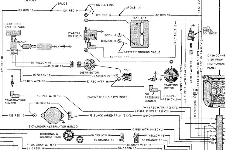 jeep cj voltmeter wiring