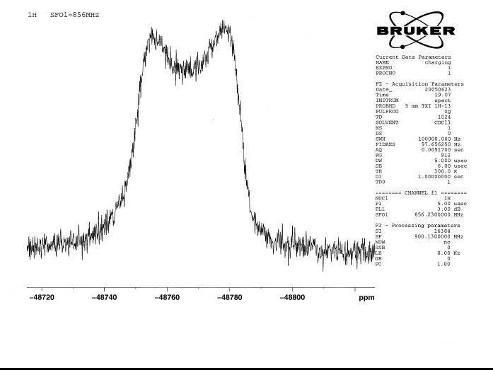 Instrument Installation- National Ultra-high Field NMR