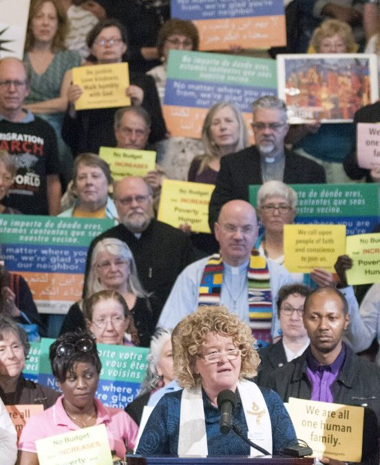 Clergy rally behind 