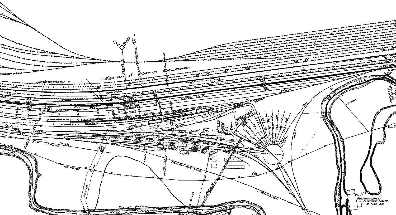 New Haven Railroad Track Diagrams