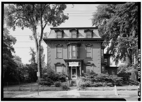 Kingsley House, Rome, New York. (Image found on Library of Congress website.)