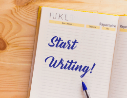 how to start writing
