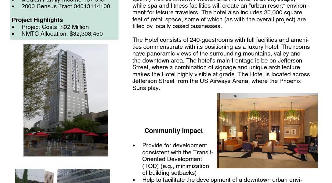 Cityscape Kimpton Palomar Hotel Phase 1