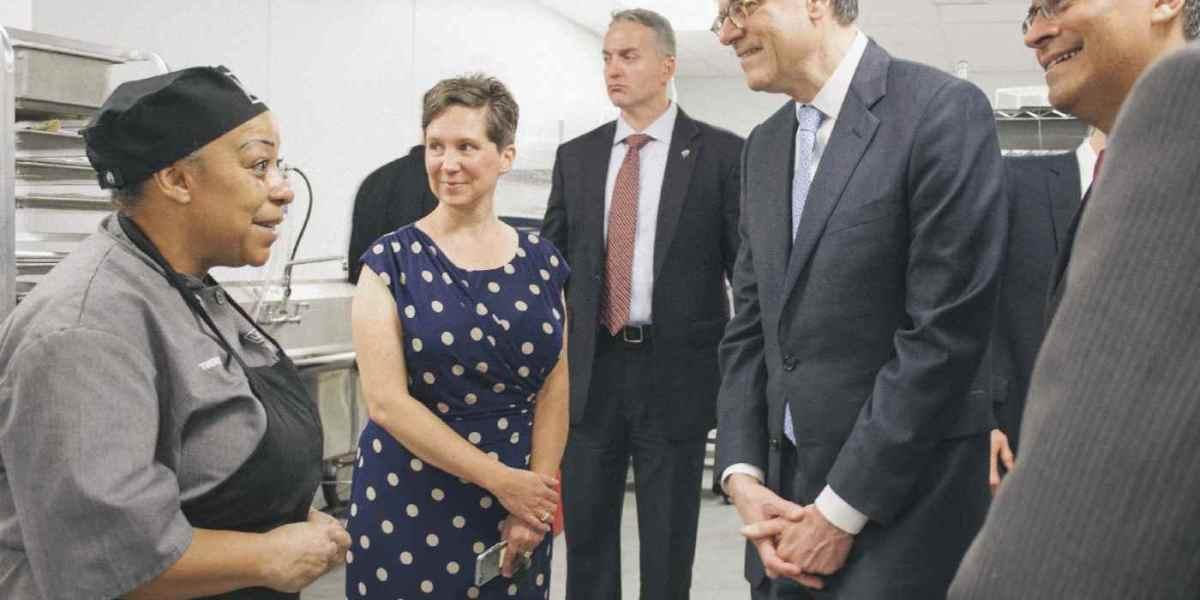 Treasury Secretary Lew and Congressman Xavier Becerra Visit L.A. Prep Incubator