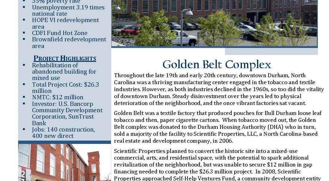 Golden Belt Complex