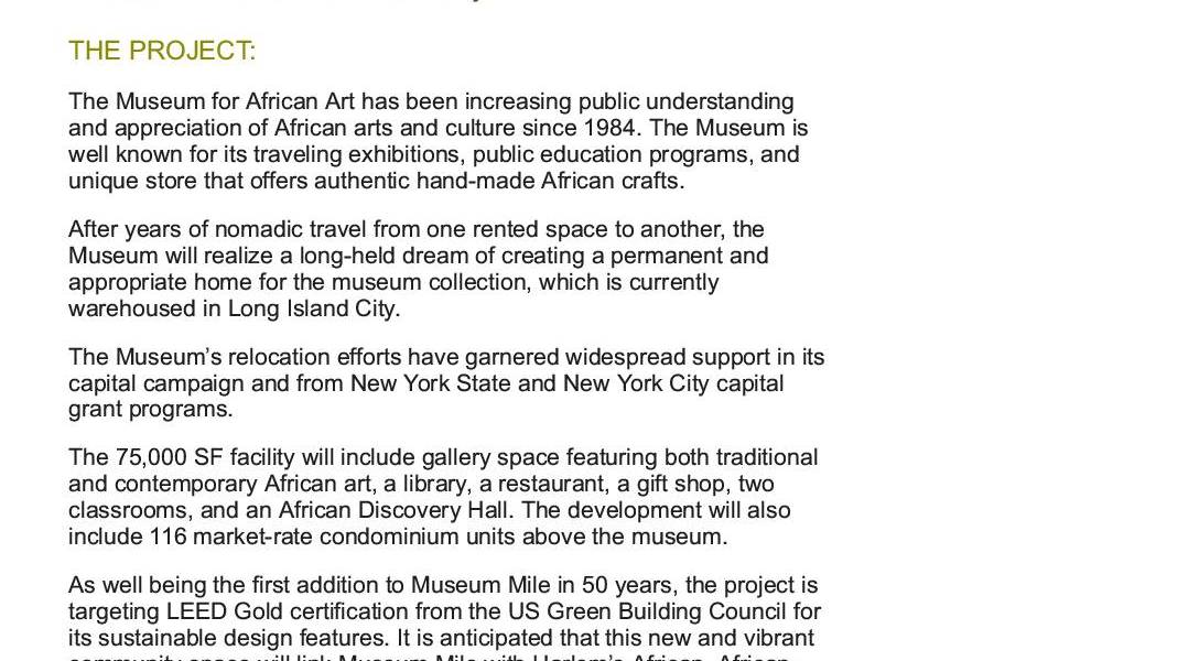 Museum for African Art