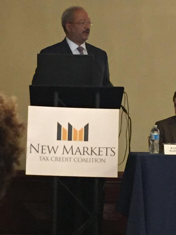Rep. Fattah Speaks at the 2015 NMTC Policy Conference