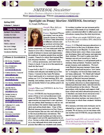Newsletter-Spring09Cover