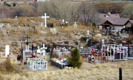 Holy Child Cemetery, Carnuel, Bernalillo County, New Mexico