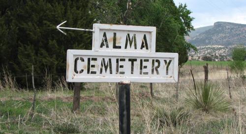 Alma Cemetery, Alma, Catron County, New Mexico