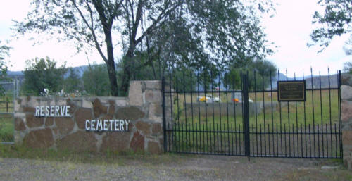 Reserve Cemetery, Reserve, Catron County, New Mexico