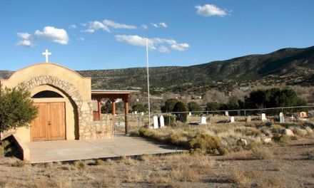 San Antonio de las Huertas in Placitas, Sandoval County, New Mexico