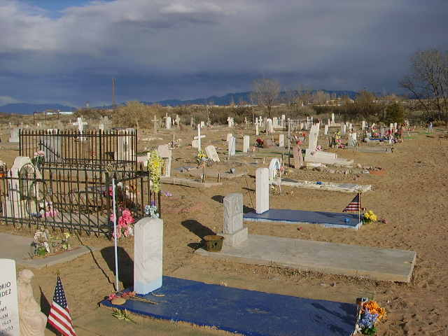 Casa Colorada Cemetery, Valencia County, New Mexico