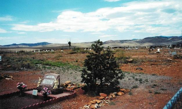 Hillsboro Cemetery, Hillsboro, Sierra County, New Mexico
