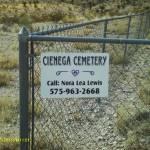 Cienega Cemetery, Cienega, Otero County, New Mexico