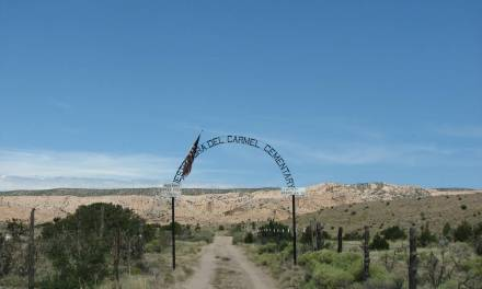 Nuestra Senora de Carmel Cemetery, Chimayo, Rio Arriba County, New Mexico
