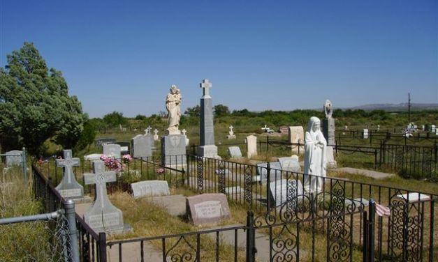 San Antonio Churchyard Cemetery, Abeytas, Socorro County, New Mexico