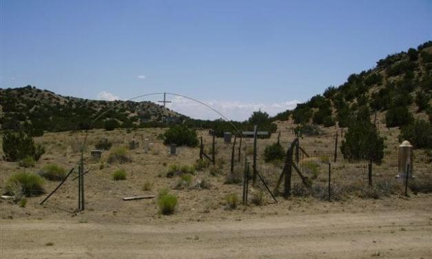 Cerrillos Protestant Cemetery, Cerrillos, Santa Fe County, New Mexico