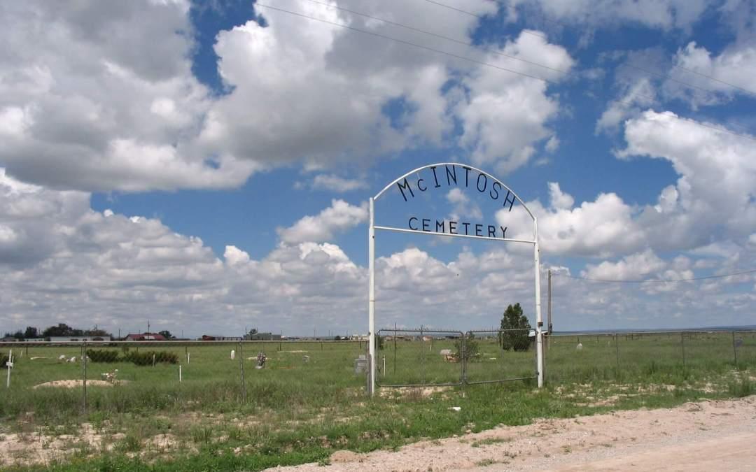 McIntosh Cemetery, McIntosh, Torrance County, New Mexico
