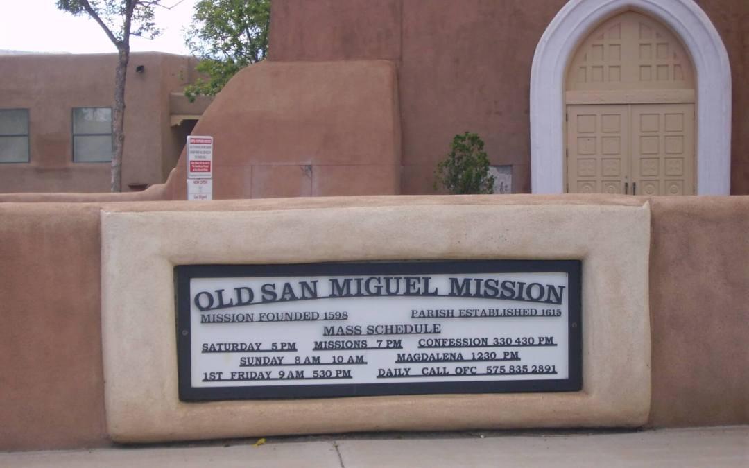 San Miguel Mission Cemetery, Socorro, Socorro County, New Mexico