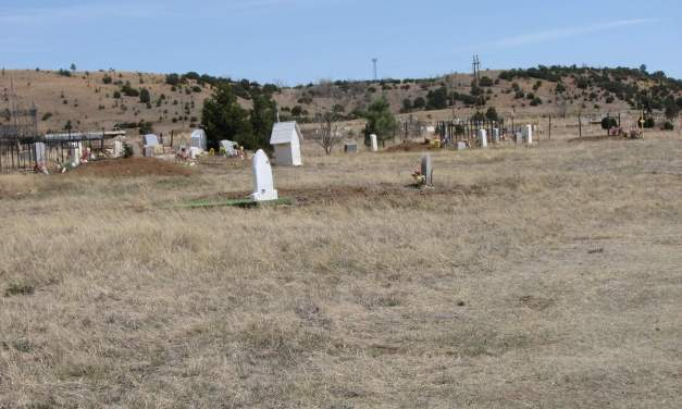 Saint Anthony Cemetery, San Miguel County, New Mexico