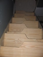 Gallery 7 Alternating Tread Stairs   nmWoodworking.com
