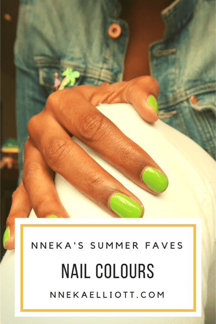 Summer nail colours 2017