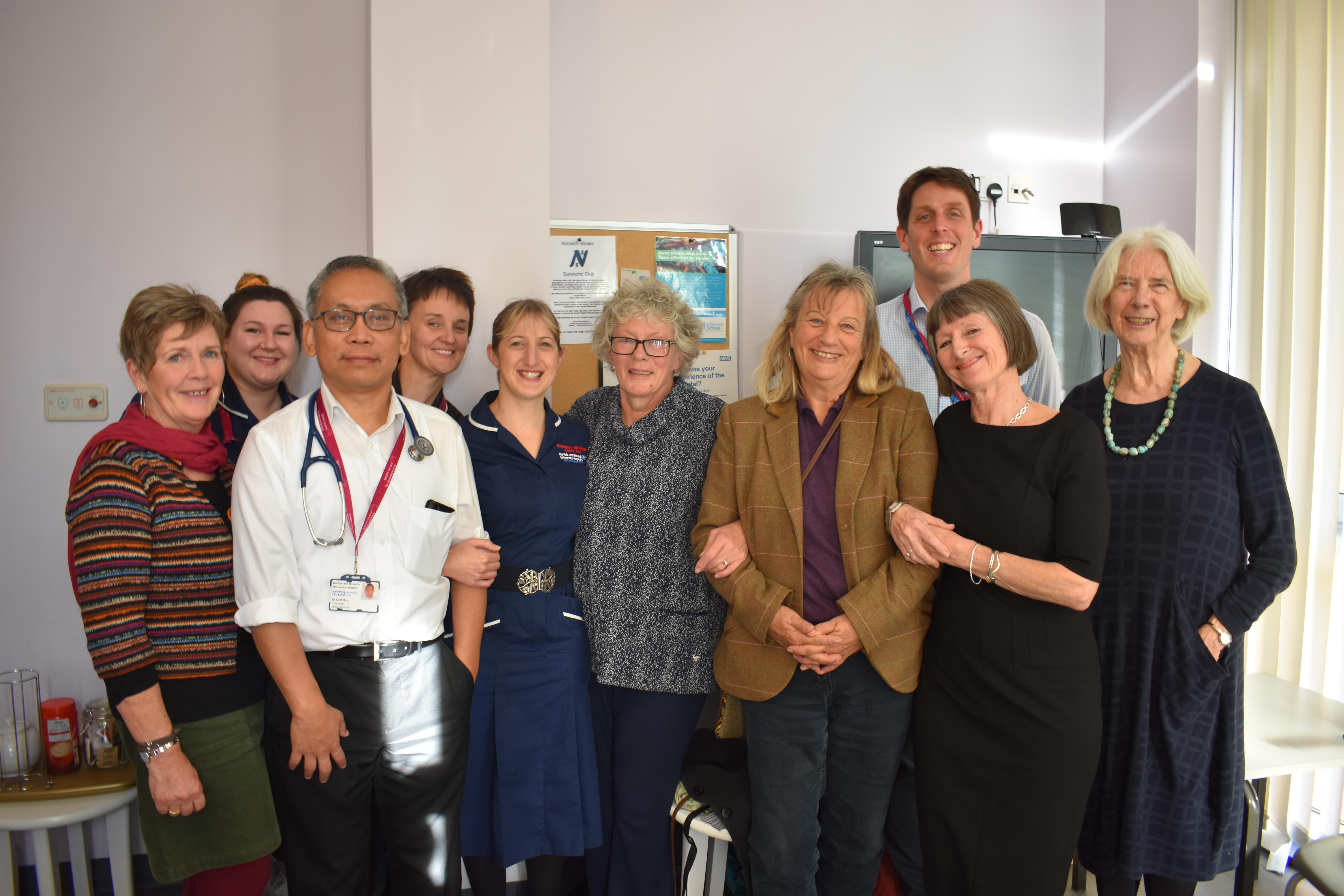Boost for stroke team from book proceeds