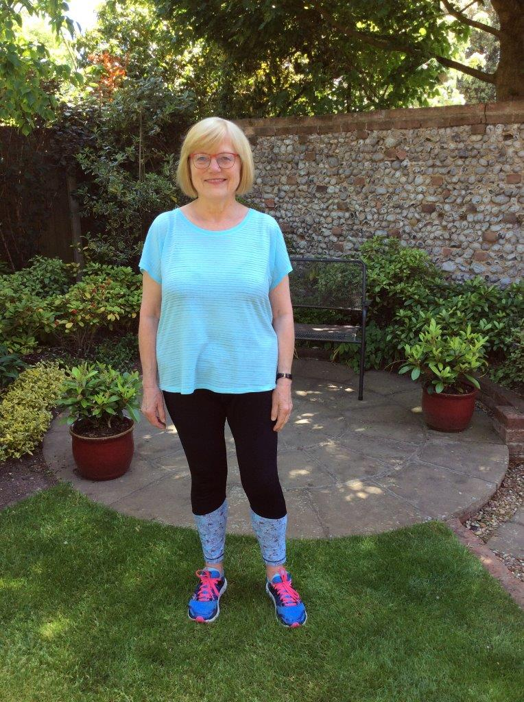 Shielded woman's 125-mile virtual walk for hospital charity